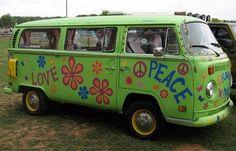 hippie van groovy