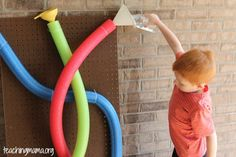 Pool Noodle Water Wall