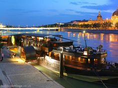 Lyon, dining on the river boat Lyon France, France Europe, Lyon City, Rhone, Beautiful Places In The World, Cityscapes, Homestead, Attraction, Destinations