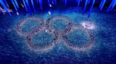 Russia laughing at their errors in the closing ceremonies.