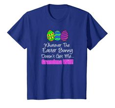 inktastic Eggcited to Hunt with Bunny Holding Easter Toddler Long Sleeve T-Shirt