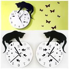 Image result for alice in wonderland wall clock