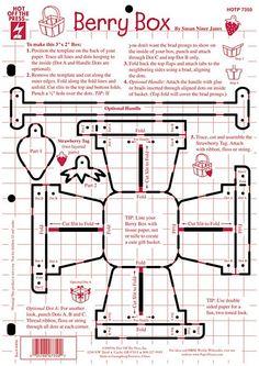 Dinglefoot's Scrapbooking - Berry Box ~ Hot Off The Press Template, $4.99 (http://www.dinglefoot.com/berry-box-hot-off-the-press-template/)
