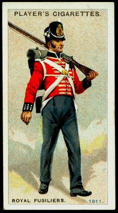 Fuciliere della fanteria di linea inglese