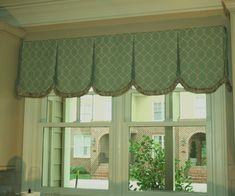 kitchen window treatments | Kitchen window treatment | Window Treatments | Pinterest