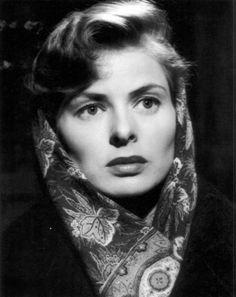 "ladybegood: ""Ingrid Bergman in Europa "" Golden Age Of Hollywood, Vintage Hollywood, Hollywood Glamour, Classic Hollywood, Olivia De Havilland, Ingrid Bergman, Heroes Actors, Swedish Actresses, Isabella Rossellini"
