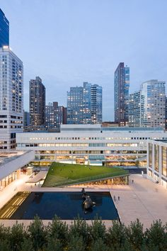 Hypar Pavilion / Diller Scofidio + Renfro with FXFowle | Lincoln Center for the Performing Arts } NY, New York