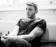 James Arthur.  British singer/songwriter. Looking forward to his album this fall!
