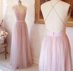 dress nude pink long dress open back dresses prom dress long prom dress pink prom dress nude dress