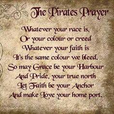 Pirates prayer