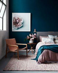 "Gefällt 163 Mal, 4 Kommentare - ⠀⠀⠀ RANDI MAGELI (@randi_mageli) auf Instagram: ""{ a stunning bedroom scheme pic via theinteriorsaddict.com }"""