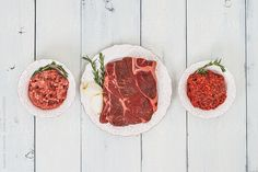 A Selection of Organic Raw Meat by Suzanne Clements http://www.stocksy.com/46029