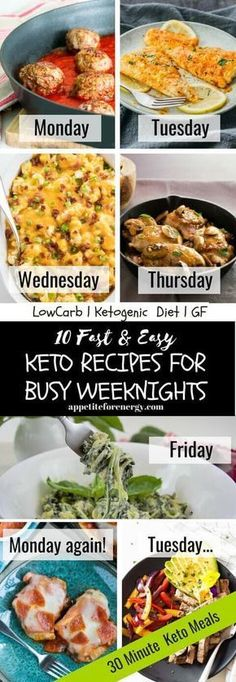 Embrace the hectic school routine with our pick of the FASTEST family friendly EASY keto recipes for busy weeknights (and weekends!) From one-pan low-carb dishes to the tastiest skillet recipes you wont be caught off guard again! Recipes are suitable Ketogenic Recipes, Low Carb Recipes, Diet Recipes, Healthy Recipes, Lunch Recipes, Breakfast Recipes, Free Keto Recipes, Breakfast Healthy, Free Breakfast