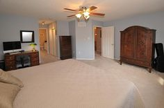 Master Bedroom with Walk in Closet and Ensuite Bathroom