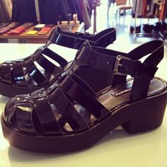 Windsor Smith, Lily Black Patent. Must Have it now <3