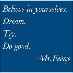 Mr. Feeny for president