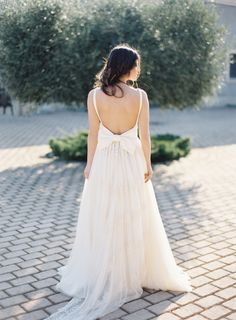 This dress is heavenly: http://www.stylemepretty.com/destination-weddings/2015/05/28/romantic-spring-wedding-inspiration-in-the-greek-mediterranean/ | Photography: Les Anagnou - http://lesanagnou.com/