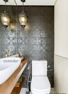 100 Banheiros Simples e Pequenos Inspiradores - Fotos