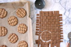 Forget Frosting: Here's How to Make Gingerbread Lattice Cookies for Your Next Holiday Party #InStyle