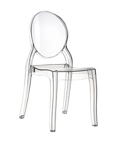 Ghost Plexiglas Chair Stuhl Elizabeth Transparent Durchsichtig. Abbildung  In Transparent Klar.