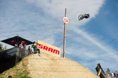 Anthony Messere jumps during the Red Bull Joyride event in Whistler BC on July 23 2011