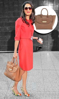 Meet the Amal Bag Amal Clooney, George Clooney, Executive Outfit, Luxury Fashion, Womens Fashion, Her Style, Style Icons, Dresses For Work, Meet