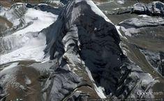Mythical India Mount Kailash Shiva face