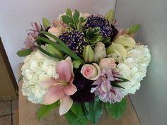 A flower arrangement called Ocean