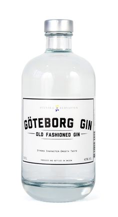 Sweden Gin # Gin of the World # Alcohol Bottles, Liquor Bottles, Whisky, Gins Of The World, Gin Tasting, Gin Brands, Gin Lovers, Rum, Packaging