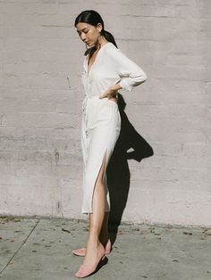 If you're invited to a party with a strict white-clothing-only dress code, take a look at the outfits ahead to spark your inspiration.
