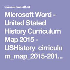 Microsoft Word - United Stated History Curriculum Map 2015 - USHistory_cirriculum_map_2015-2016.pdf