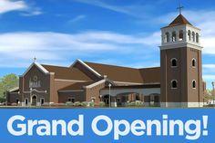 Saint Cecilia Catholic Church to Celebrate Grand Opening   Dells.com Blog