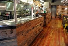 Sustainable Lumber Co. pallet wood panels