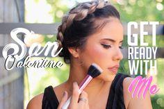 Peinado cabello corto: Trenza corona Plus MakeUp & Outfit Youtube, Hair Beauty, Lipstick, Hairstyle, Makeup, Blog, San, Corona, Braid