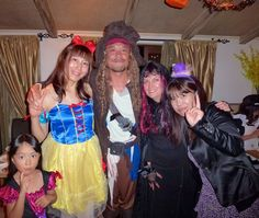 Captain Jack Sparrow & his women! LOL