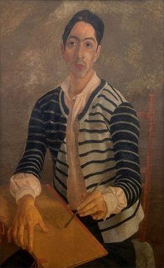 Afro Basaldella · Self Portrait · 1935 · Galleria Nazionale d'Arte Moderna · Roma