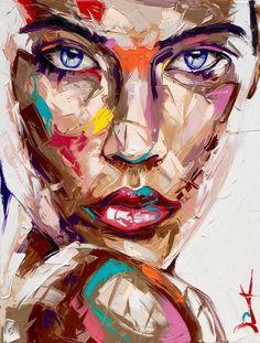Faces iii vassilis antonakos art a level art in 2019 waterco Watercolor Art Face, Abstract Face Art, Abstract Portrait, Portrait Art, Portraits, Tableau Pop Art, Painting & Drawing, Art Drawings, Art Photography