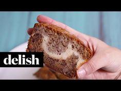 Best Cheesecake Banana Bread Recipe - How to Make Cheesecake Banana Bread