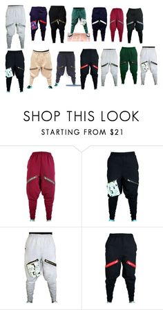 """ChachiMomma Pants. IN LOVE. NEED. <3 *-*"" by dino-satan666 ❤ liked on Polyvore"