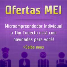 Banner lateral para os planos celular corporativo MEI. Acesse www.planotimempresa.com.br