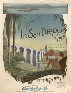 In San Diego.  Vince Meades Sheet Music Collection.