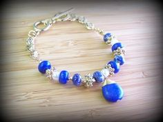 "Boho Chic Toggle Bracelet  Charm: 1"" Drop Length Bracelet: 9"" Length  Toggle Closure www.jonesburch.com"