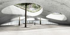 Atelier King Kong divulga proposta para a estação de metrô Grand Paris Express,© atelier d'architecture KingKong