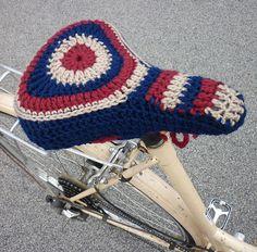 Granny Funk's Bikeseat Cover by Megan Sheard