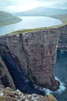 Lake Sorvagsvatn, Faroe Islands Amaizing photography