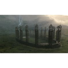 Campo de Quidditch » HarryMedia - Galería de fotos de Harry Potter,... ❤ liked on Polyvore featuring harry potter, pictures, hogwarts, backgrounds and hp