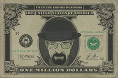 Breaking Bad - Heisenberg Dollar - Official Poster