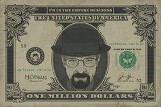 Breaking Bad - Heisenberg Dollar - Official Poster