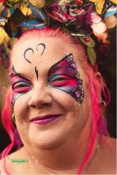 This design added to the theme of her birthday party Adult Face Painting, Painting For Kids, Professional Face Paint, 40th Birthday Parties, Hula Hoop, Halloween Face Makeup, Hair Accessories, Dance, Party