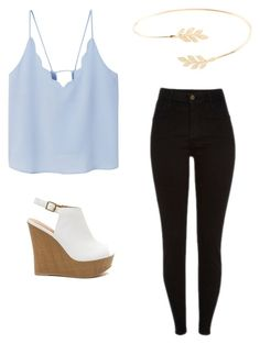 """Untitled #2"" by gabbyfuentes2001 on Polyvore featuring MANGO and Accessorize"